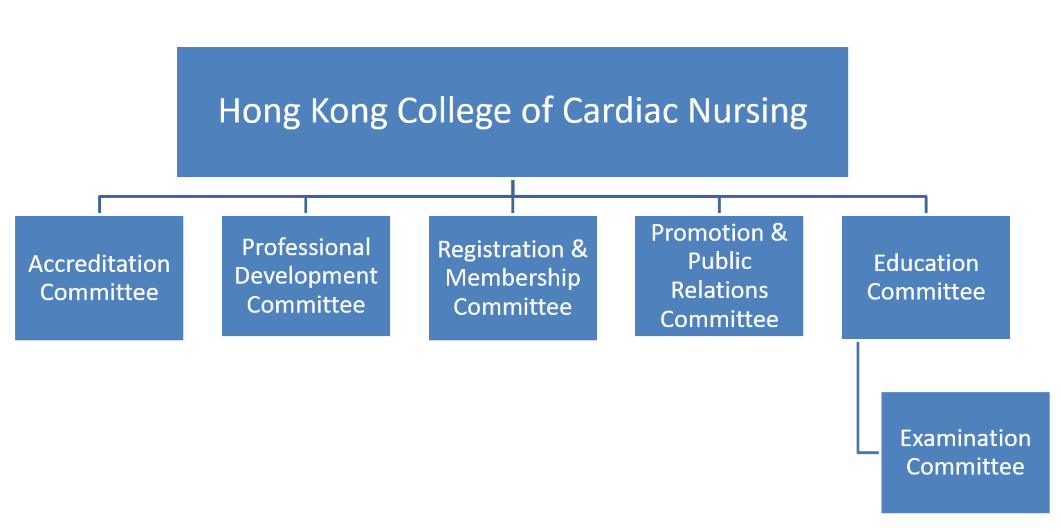 HKCCN organization structure