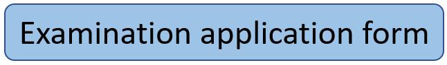 examination application form